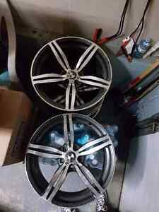 M6 rims with M6 fitment 5X120 500OBO