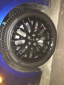 Mustang GT Performance Pack Rims & Tires