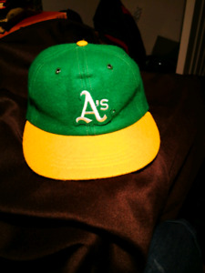 Rare 1970 Oakland Athletics hat
