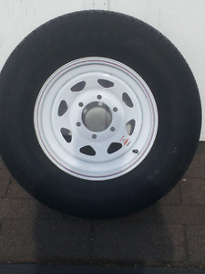 Trailer tire an rim