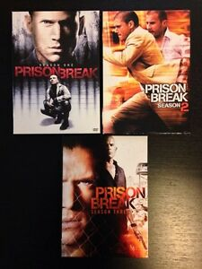 Prison Break Seasons 1-3, DVD sets Peterborough Peterborough Area image 1