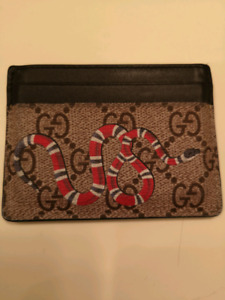 Gucci card holder wallet