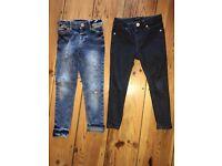 River Island boys skinny jeans age 3