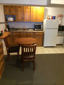 Full furnished basement appt sep entrance-rental asap