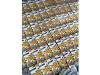 750x SIM cards new/sealed one off lot