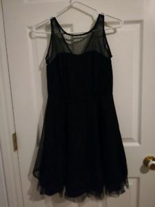 Little back evening dress