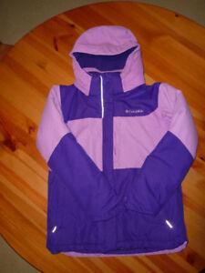 Manteau d'hiver Columbia 10-12 ans