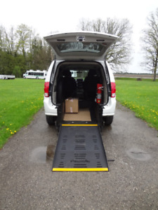 Wheelchair Accessible Minivan Rear Entry