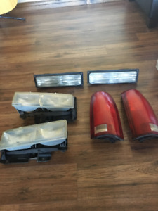 1998 Silverado Headlights and Taillights