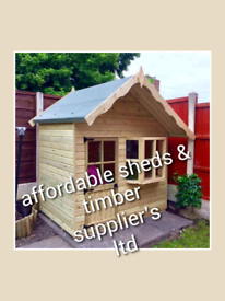 Large selection of playhouses