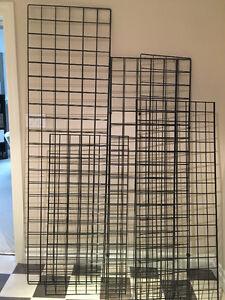 Metal display screens