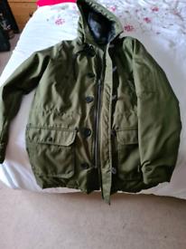 Olive green John Devin coat