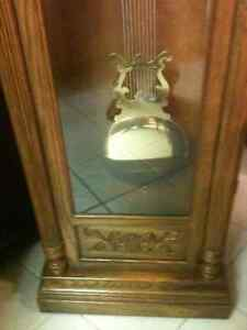Beautiful Oak Trend, by Sligh Cable Drive Grandfather Clock London Ontario image 7