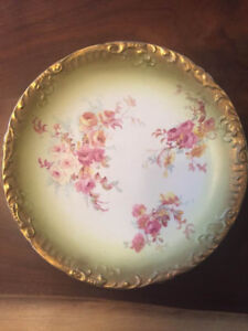 Antique Stoke-on-Trent Lunch Plates