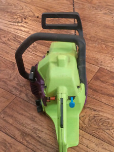 Poulan wild thing chain saw $80 FIRM