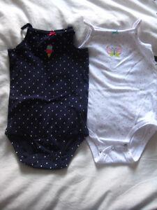 Fille : 2 camisoles été NEUVE - 24 mois