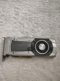 Nvidia 1080Ti 11GB GTX Founders Edition