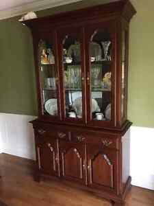 ROXTON Dining Room Table with 6 Chairs, Buffet & Hutch For Sale Sarnia Sarnia Area image 3