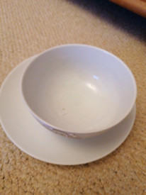 Pet bowl and plate
