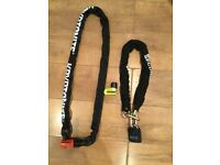 2 motorbike security chain lock for sale