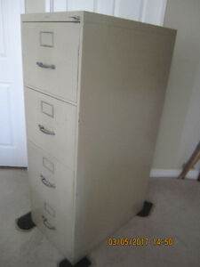 Verticle  deep drawer Legal Filing Cabinet with a key