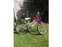 "Girls 20"" Raleigh Bicycle"