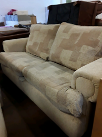 2 seater sofa with 2 armchairs £80