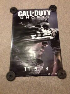 Call of Duty double sided poster