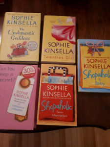 5 books by Sophie Kinsella: Undomesticated Goddess; and more