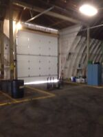 Shop or warehouse space for rent