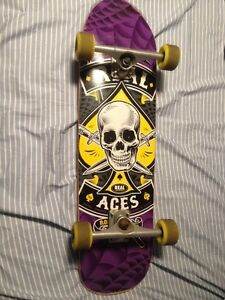 "REAL skateboards 33"" 7 ply cruiser"