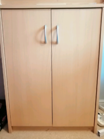 Wooden Storage Cupboards drawers side unit