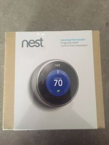 Brand New in Box Nest learning thermostat