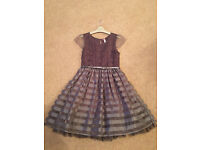 Next Girls Grey Dress Age 12