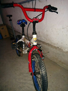 Spiderman bicycle for boy 5-7 yrs old. Shediac area.