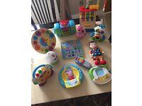 Toddler toy bundle Melissa & Doug Vtech Leap frog Fisher Price