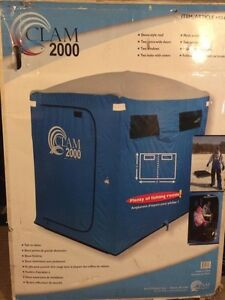 Clam 2000 2 man Ice fishing tent