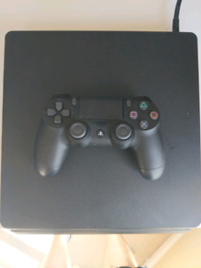 PS4 Slim 500Gb (Controller + Charging Cord) + 6 Games