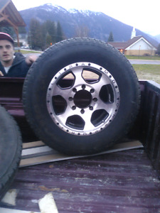 Great rims for a Dodge Ram
