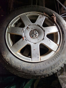 VW winter tires and rims