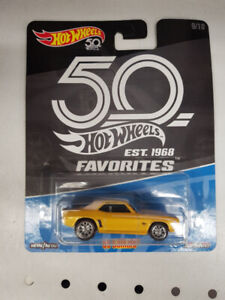 Hot Wheels 50th Anniversary 69 Camaro