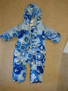 Columbia Infant 12m winter snow suit