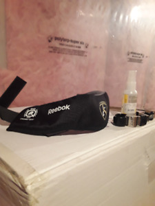 Reebok neck guard and whistles