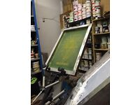 Learn to screen print for free