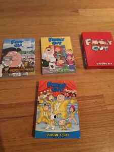 Family Guy Volume 3-6-7-8