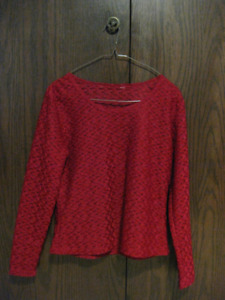 Red lacey blouse for sale