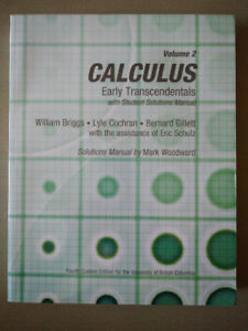 UBC Calculus: Early Transcendentals Volume 2
