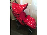 Cath kidston pushchair limited edition