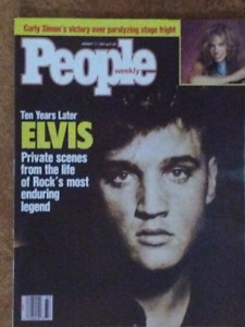Elvis On Cover Page of Magazines (3 magazines in total)