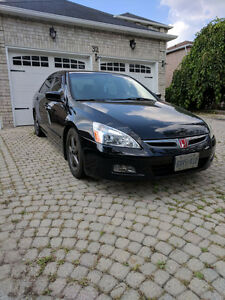 2007 Honda Accord EXL Navi - Black